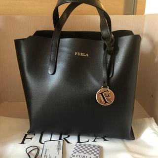 Furla - フルラ サリーs ブラック 美品 トートバッグ ショルダーバッグ