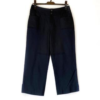 イッセイミヤケ(ISSEY MIYAKE)のイッセイミヤケ パンツ サイズ3 L ネイビー(その他)