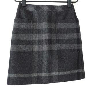 バーバリー(BURBERRY)のバーバリーロンドン ミニスカート 36 M -(ミニスカート)