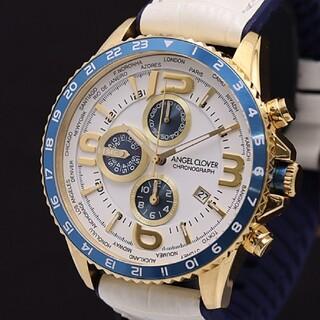エンジェルクローバー(Angel Clover)の超美品 エンゼルクローバー クロノグラフ 腕時計(腕時計(アナログ))