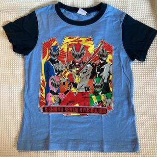 バンダイ(BANDAI)のリュウソウジャー Tシャツ 110センチ(Tシャツ/カットソー)