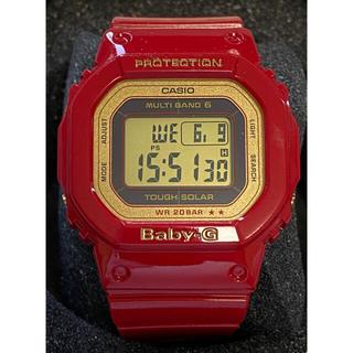 ベビージー(Baby-G)のG-SHOCK/baby-G/オリジン/電波/ソーラー/BGD-5020/美品(腕時計(デジタル))