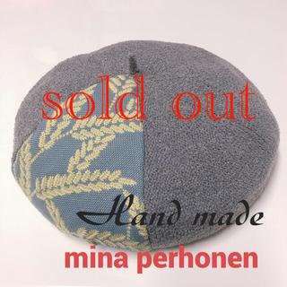 ミナペルホネン(mina perhonen)のミナペルホネンベレー帽ミナペルホネンspica(帽子)