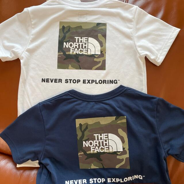 THE NORTH FACE(ザノースフェイス)の新品THE NORTH FACEキッズTシャツセット キッズ/ベビー/マタニティのキッズ服男の子用(90cm~)(Tシャツ/カットソー)の商品写真