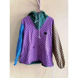 Gucci - ◆GUCCI◆GGマルチカラーキャンバス フードジャケット