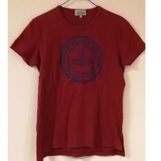 ヴィヴィアンウエストウッド(Vivienne Westwood)のヴィヴィアンウエストウッド Tシャツ 赤 44(Tシャツ/カットソー(半袖/袖なし))