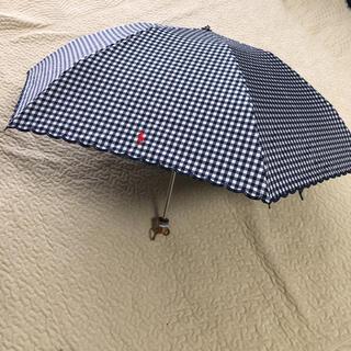 Ralph Lauren - 新品 ラルフローレン 日傘 ネイビー✖️ホワイトのギンガムチェック柄