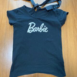 バービー(Barbie)のbarbie バックリボンTシャツ(Tシャツ(半袖/袖なし))