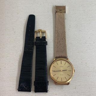 オメガ(OMEGA)のオメガ デビル 腕時計 純正金具付(腕時計(アナログ))