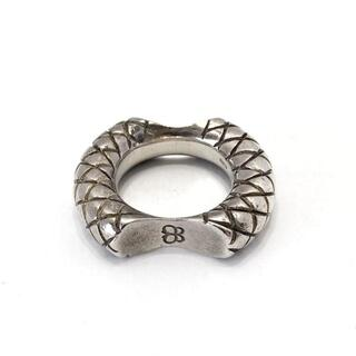 ボッテガヴェネタ(Bottega Veneta)のボッテガヴェネタ リング美品  - シルバー(リング(指輪))
