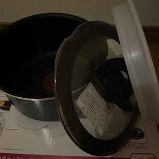 ティファール(T-fal)のティファール ソースパン16㎝ シールリッド ガラス蓋(鍋/フライパン)