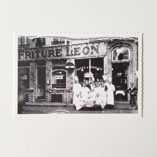 ポストカード シェレオン Chez LEON(アート/写真)