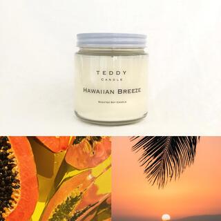 バスアンドボディーワークス(Bath & Body Works)の爽やかなフルーツの常夏の香り、ハワイアンブリーズ★新品アロマキャンドル(キャンドル)