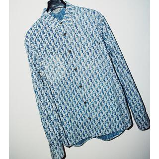 Christian Dior - DIOR オブリーク デニム シャツ 41 XL stussy denim ロゴ