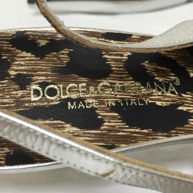 DOLCE&GABBANA(ドルチェアンドガッバーナ)のドルチェアンドガッバーナ サンダル 36 1/2 レディースの靴/シューズ(サンダル)の商品写真