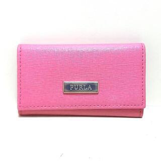 フルラ(Furla)のフルラ キーケース - ピンク 6連フック(キーケース)