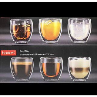 ボダム(bodum)のボダム グラス250ml 6個セット(グラス/カップ)