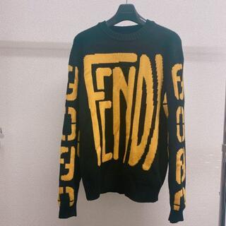 FENDI - 【Fendi】ロゴ ニット メンズ フェンディ 46 M