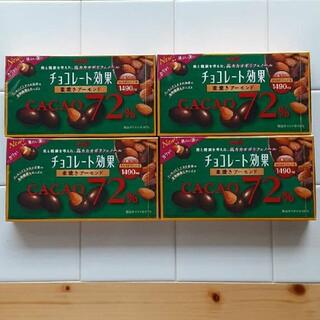 明治 - meiji  チョコレート効果  72%  アーモンド