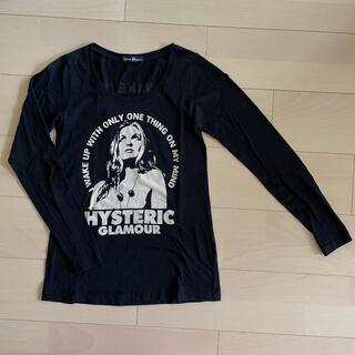 ヒステリックグラマー(HYSTERIC GLAMOUR)のヒステリックグラマー ロンティー カットソー 黒 ヒスグラ(Tシャツ(長袖/七分))