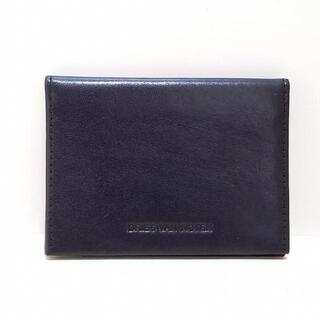 ドリスヴァンノッテン(DRIES VAN NOTEN)のドリスヴァンノッテン カードケース 黒(名刺入れ/定期入れ)