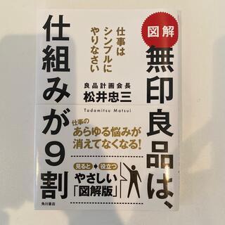 カドカワショテン(角川書店)の図解無印良品は、仕組みが9割 仕事はシンプルにやりなさい(ビジネス/経済)