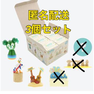 ダッフィー(ダッフィー)のダッフィーのサニーファン  フィギュア3個セット(キャラクターグッズ)