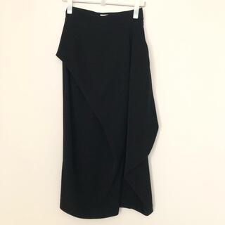 エンフォルド(ENFOLD)のENFOLD ロングスカート 36黒(ロングスカート)
