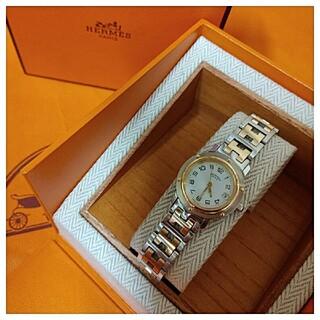 Hermes - なる様専用 エルメス時計 極極美品 C L 4 . 2 4 0 ・ レディース