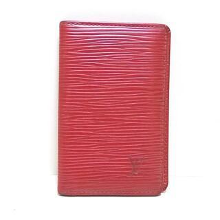 ルイヴィトン(LOUIS VUITTON)のルイヴィトン カードケース エピ M56577(名刺入れ/定期入れ)