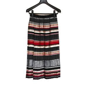 グレースコンチネンタル(GRACE CONTINENTAL)のダイアグラム ロングスカート サイズ36 S -(ロングスカート)