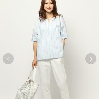バンヤードストーム(BARNYARDSTORM)のバンヤードストーム ストライプシャツ(シャツ/ブラウス(半袖/袖なし))