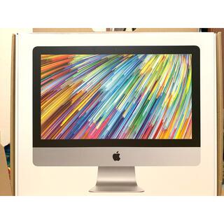 アップル(Apple)のiMac 21.5インチ 2019年 Retina4K【値下げ交渉可】(デスクトップ型PC)