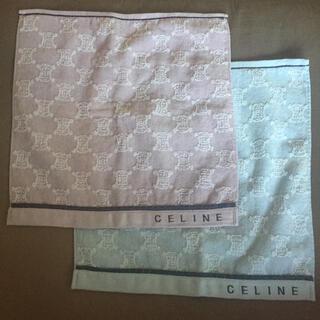 celine - CELINE セリーヌ タオルハンカチ 2枚セット
