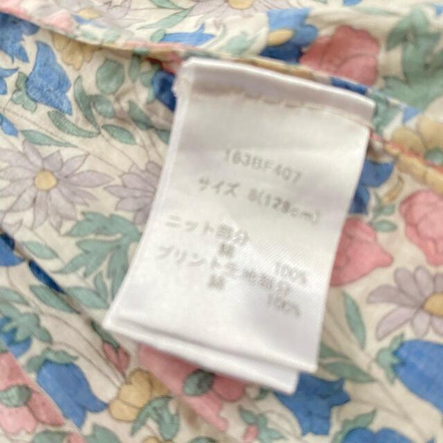 Bonpoint(ボンポワン)のリバティロンドン ワンピース 8 キッズ/ベビー/マタニティのキッズ服女の子用(90cm~)(ワンピース)の商品写真