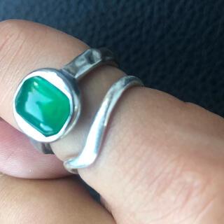 ロンハーマン(Ron Herman)のanthemガラスリング(リング(指輪))