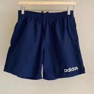 adidas - adidas short pants DESCENTE製 navy