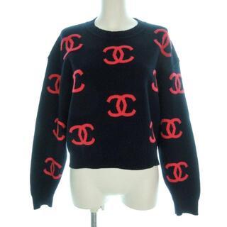 シャネル(CHANEL)のシャネル 長袖セーター サイズ40 M美品 (ニット/セーター)