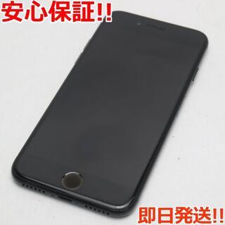アイフォーン(iPhone)の良品中古 SOFTBANK iPhone7 128GB ジェットブラック (スマートフォン本体)