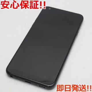 エルジーエレクトロニクス(LG Electronics)の超美品 L-03K ブラック 本体 白ロム (スマートフォン本体)