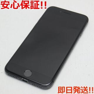 アイフォーン(iPhone)の美品 DoCoMo iPhone8 64GB スペースグレイ  (スマートフォン本体)