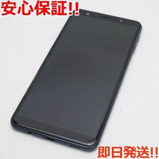 ギャラクシー(Galaxy)の美品 SIMフリー Galaxy A7 ブラック (スマートフォン本体)