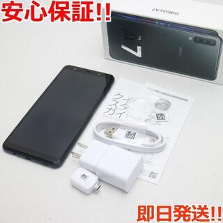 ギャラクシー(Galaxy)の良品中古 SIMフリー Galaxy A7 ブラック (スマートフォン本体)