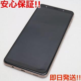 ギャラクシー(Galaxy)の新品同様 SIMフリー Galaxy A7 ゴールド (スマートフォン本体)