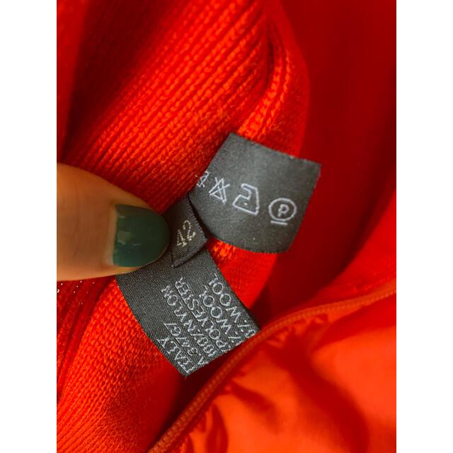 PRADA(プラダ)のPRADA プラダ ベスト オレンジ 48 メンズのジャケット/アウター(ナイロンジャケット)の商品写真