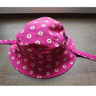 パタゴニア(patagonia)の【あん様専用 パタゴニア】ベビー 帽子 0歳児向け リバーシブル ピンク ブルー(帽子)