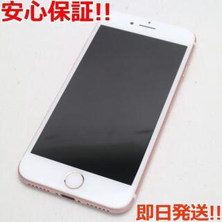 アイフォーン(iPhone)の超美品 SIMフリー iPhone7 32GB ローズゴールド(スマートフォン本体)