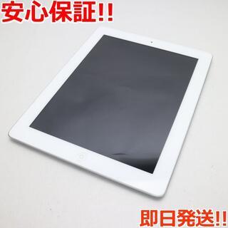 アップル(Apple)の美品 判定○ iPad第4世代Wi-Fi+cellular16GB ホワイト (タブレット)