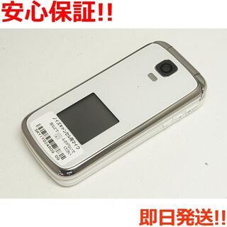 キョウセラ(京セラ)の新品 au K012 ホワイト 白ロム(携帯電話本体)