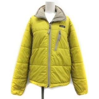 パタゴニア(patagonia)のパタゴニア S パフジャケット 中綿 アウター ジップアップ 黄色 84030(その他)